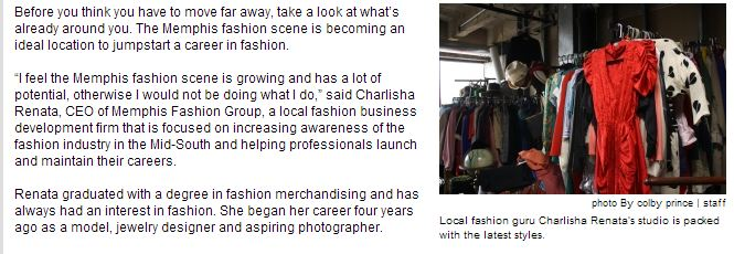 Opportunities abundant for aspiring fashionistas in Memphis – The Daily Helmsman