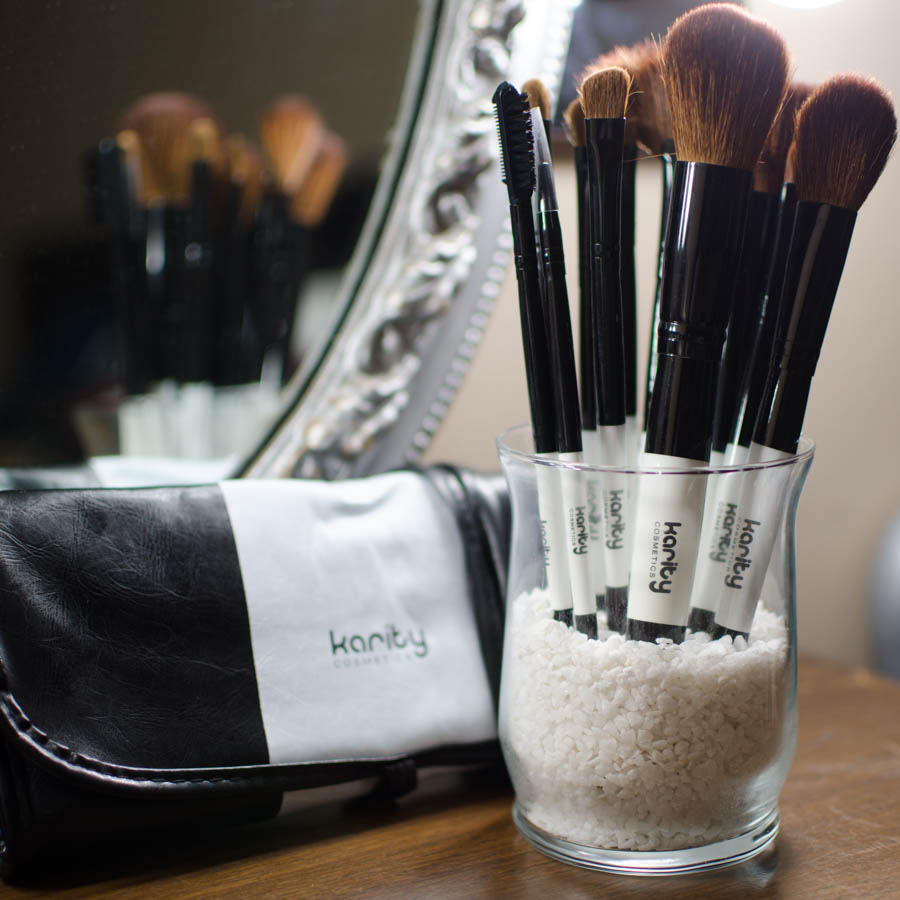 Karity Cosmetics Makeup Brushes Review
