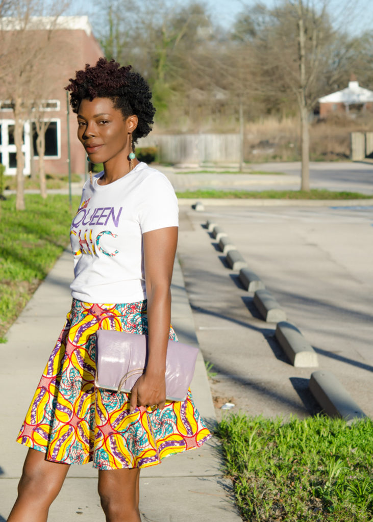 Fashion Challenge: Queen Chic in Ankara Fabric